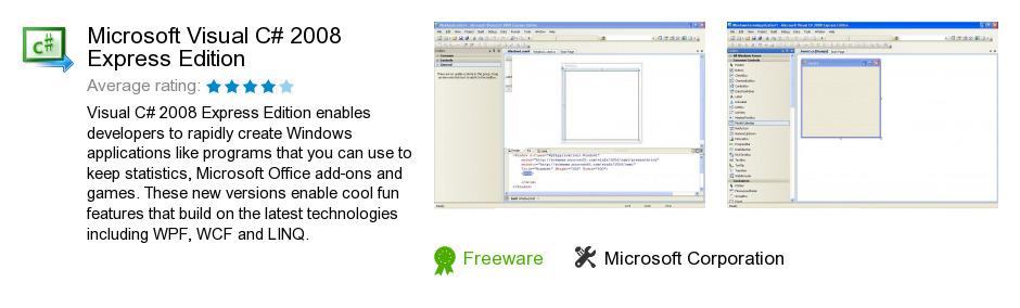 Microsoft Visual C# 2008 Express Edition