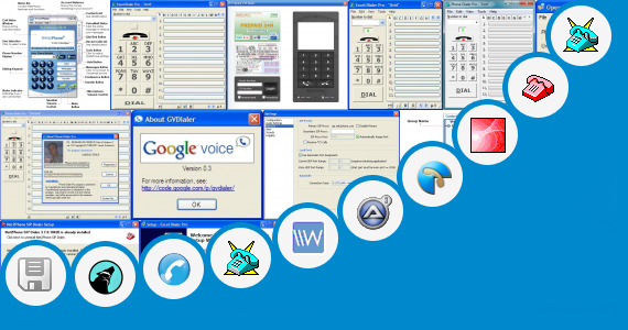 Software collection for Moon Call Dialer Software