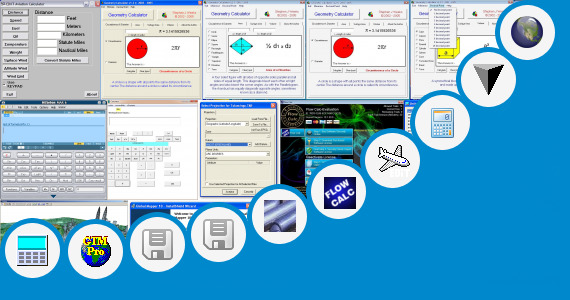 Software collection for Excel Calculator Surface Area Tank