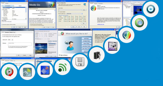 Software collection for Sony Media Remote