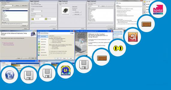 Malayalam virtual keyboard