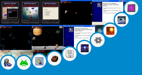 Software collection for Free Game Spc T5 Cosmic