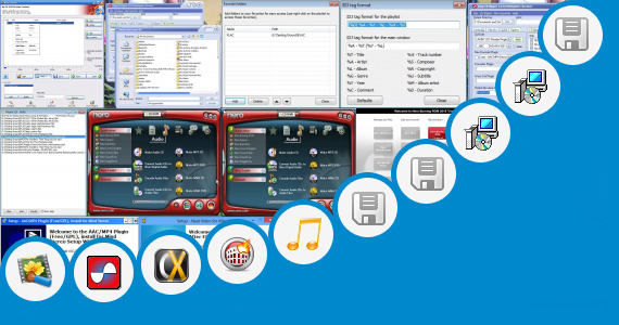 Software collection for Virtualdub Aac Plugin