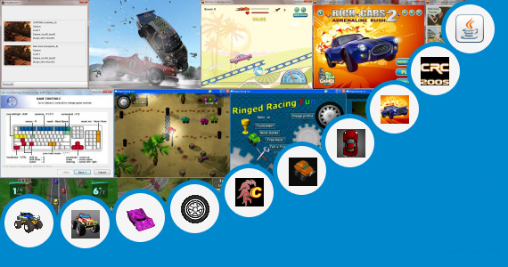 Software collection for Java Jar Car Racing Game
