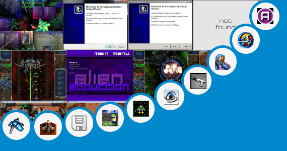 Software collection for Game Offline Alien Shooter