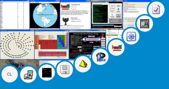 Software collection for Shell Bunker Calculator