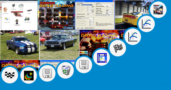 Software collection for Drag Race Cheats