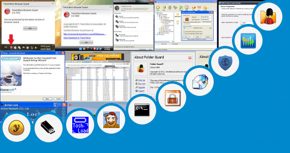 Software collection for Toshiba Easy Guard