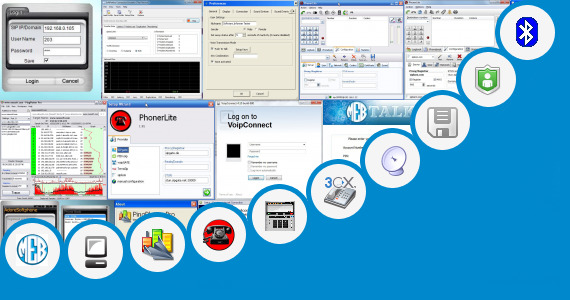 Software collection for Mega Voip Connect Software