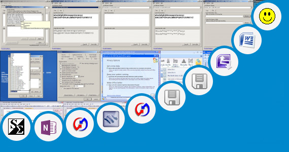 Software collection for Microsoft Word 210