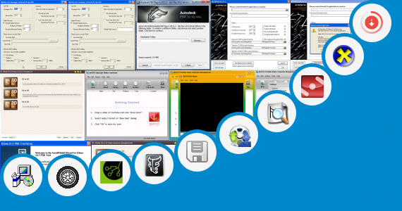 Software collection for 3ds Max 9 Portable Version