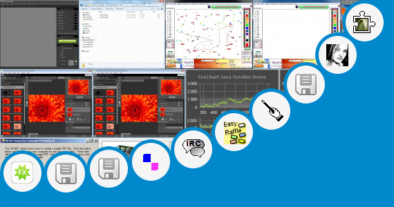 Software collection for Ral Colour Mixing Software