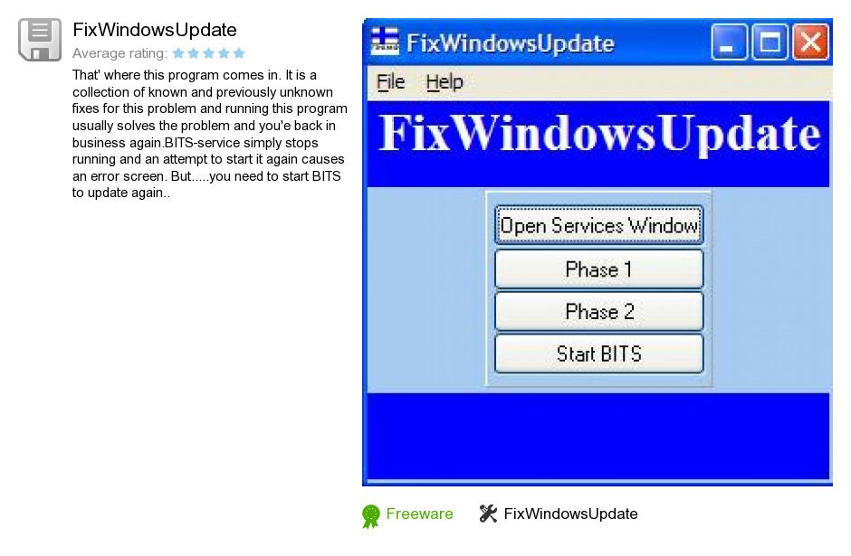 FixWindowsUpdate