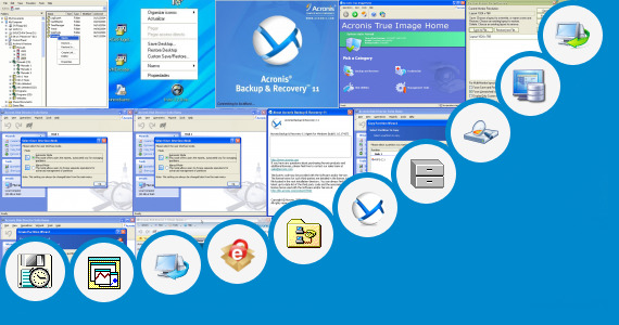 Software collection for Acronis Restore From Shell