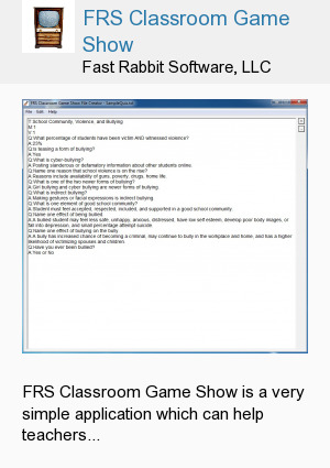 FRS Classroom Game Show