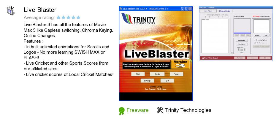 Live Blaster