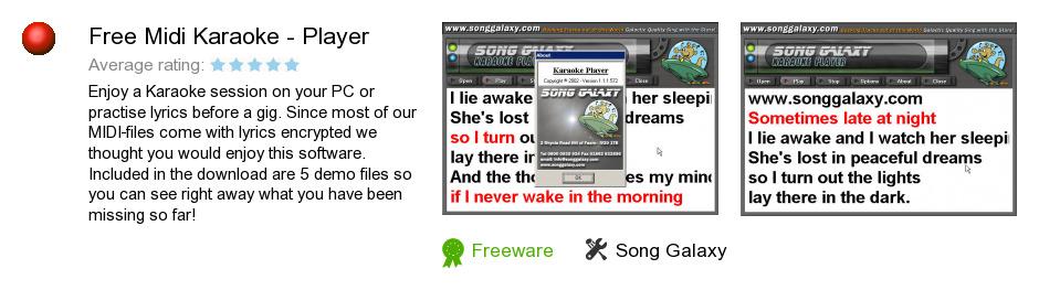 Free Midi Karaoke - Player