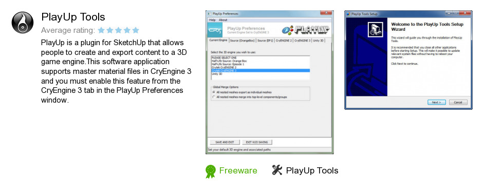 PlayUp Tools