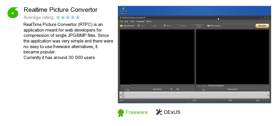 Realtime Picture Convertor