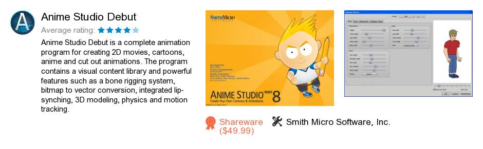 Anime Studio Debut