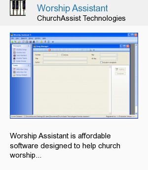 Worship Assistant