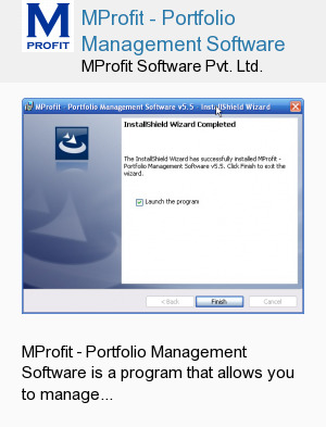 MProfit - Portfolio Management Software