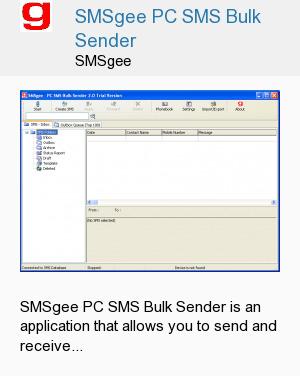 SMSgee PC SMS Bulk Sender