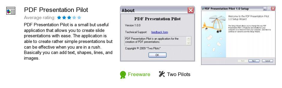 PDF Presentation Pilot