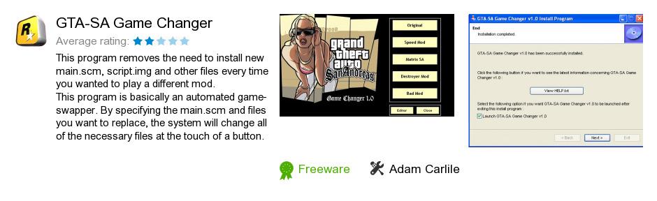 GTA-SA Game Changer