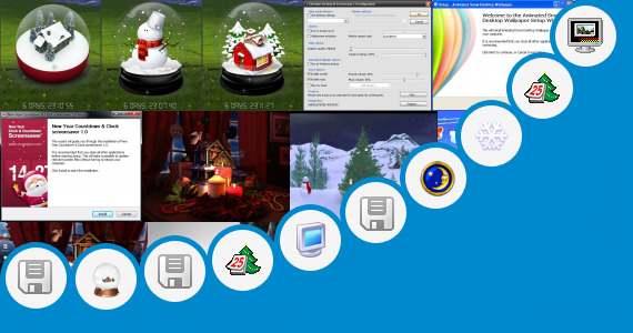 Software collection for Christmas Countdown Animated Wallpaper