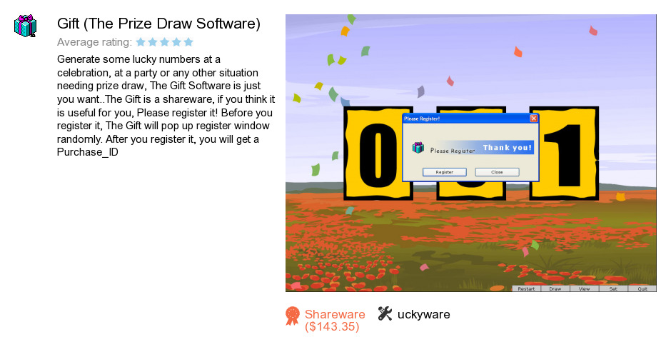 Free Gift The Prize Draw Software Download 3 084 872 Bytes