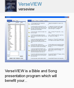 VerseVIEW
