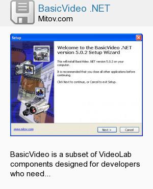 BasicVideo .NET