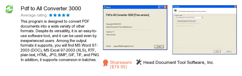 Pdf to All Converter 3000