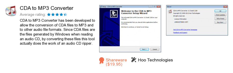 CDA to MP3 Converter