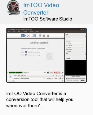 ImTOO Video Converter