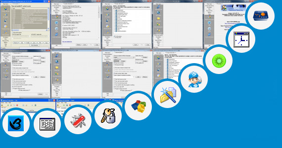 Software collection for Applications Places System