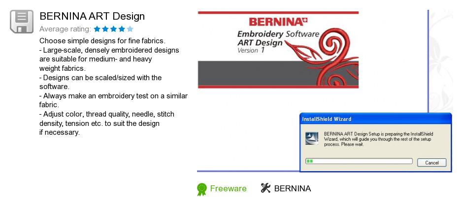 BERNINA ART Design