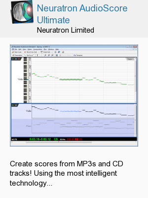 Neuratron AudioScore Ultimate