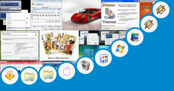 Software collection for Skin Pack Windows 7 Ferrari