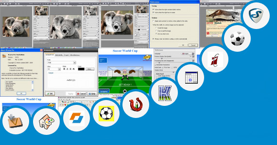 Software collection for Soccer Sketch Pro