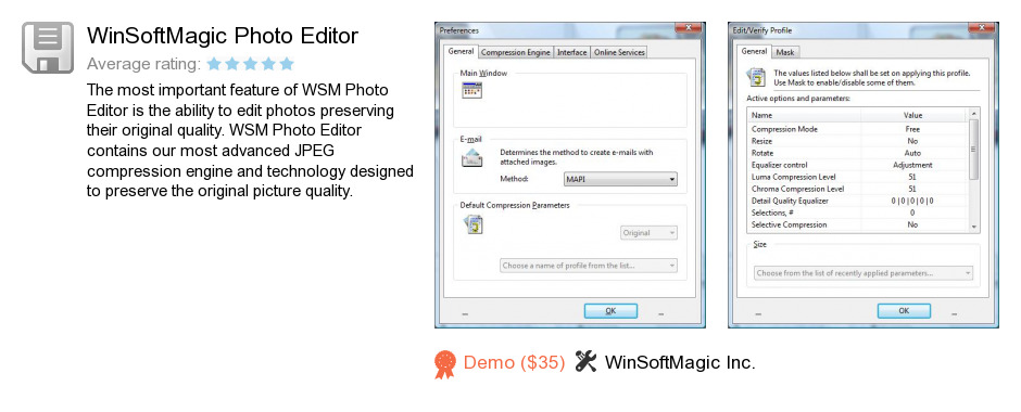 WinSoftMagic Photo Editor
