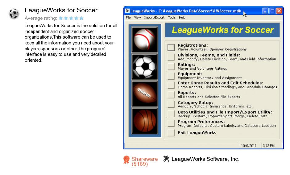 LeagueWorks for Soccer