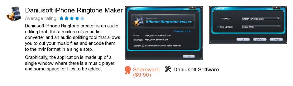 Daniusoft iPhone Ringtone Maker