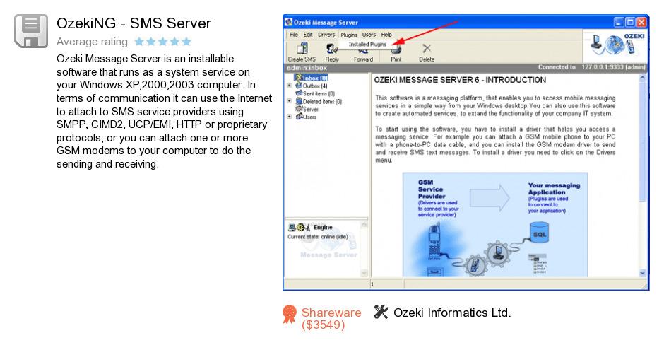 OzekiNG - SMS Server