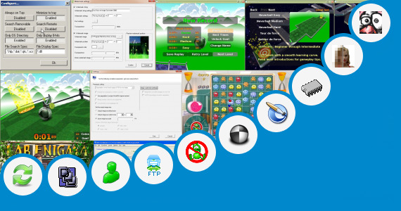 Software collection for Madeena Super Pc Call