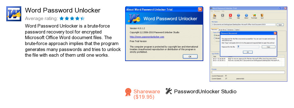 Word Password Unlocker