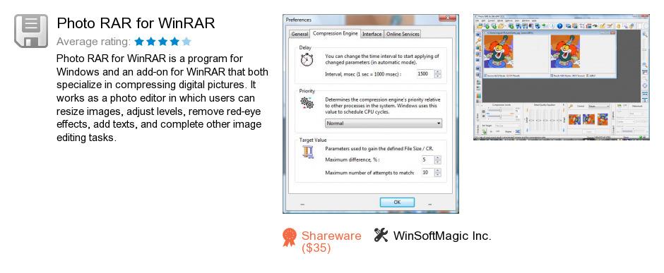 Photo RAR for WinRAR