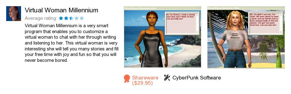 Virtual Woman Millennium