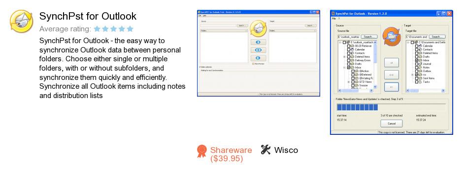 SynchPst for Outlook